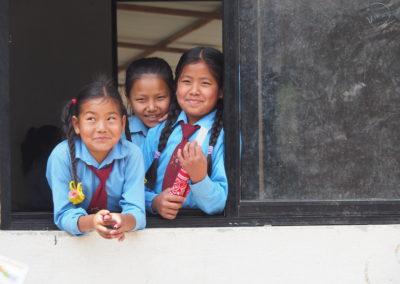 Reconstrucció de l'escola i la residència per a nens invidents a Akkare Bazar