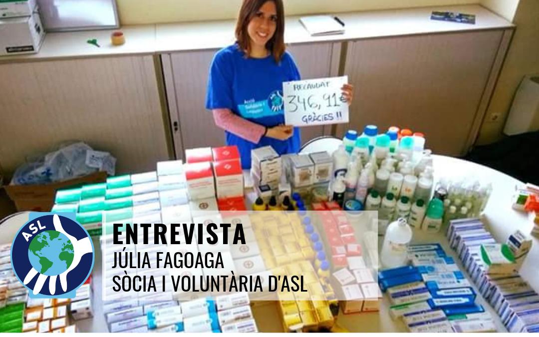 Entrevista a la Júlia Fagoaga
