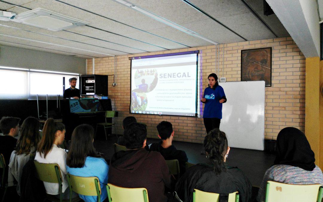 ASL participa en las jornadas de Educación para la Paz de Sant Pere de Ribes