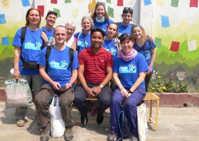 Formación sanitaria y ocupacional al personal y usuarios del hospital ortopédico de Kathmandu (Nepal)
