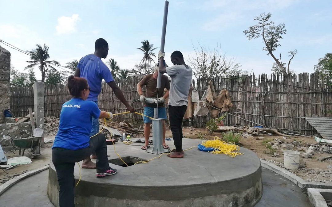 Millora i rehabilitació de pous a l'illa d'Ibo (Moçambic)