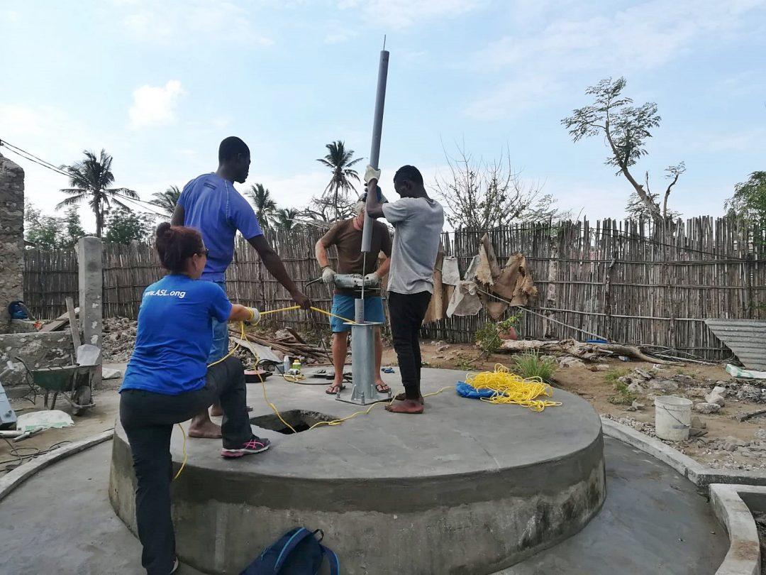 Millora i rehabilitació de pous a l'illa d'Ibo, Moçambic