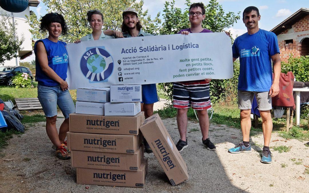 Acció Solidària i Logística envia ajuda als migrants de Velika Kladusa