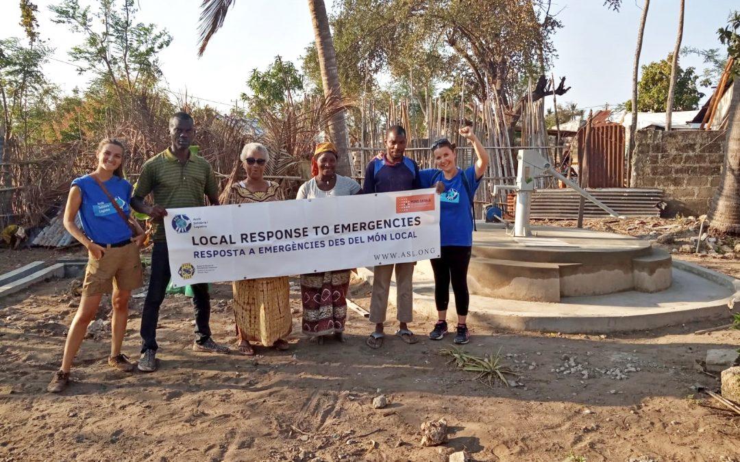 Finalitza la segona intervenció d'ASL a l'illa d'Ibo, Moçambic