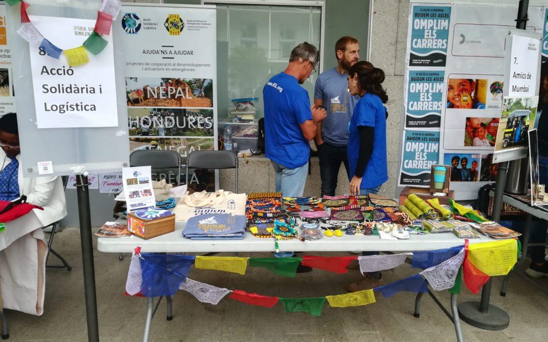 Acció Solidària i Logística participa a la Fira UPF Solidària