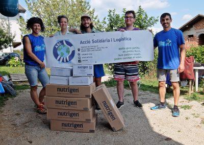 Ajuda als migrants de Velika Kladusa (Bòsnia)