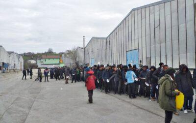 Acció conjunta d'ASL i No Name Kitchen en resposta a l'emergència de la COVID-19 a Bòsnia