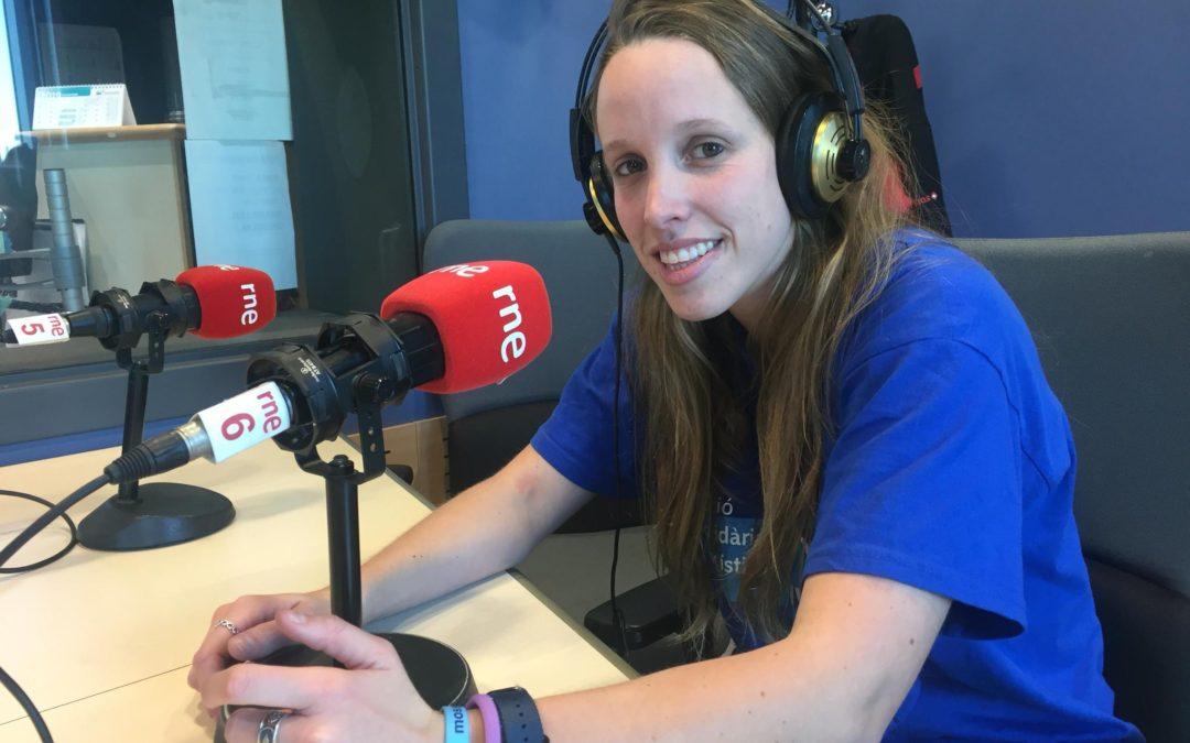Entrevista a la Eva Brescó, voluntària d'ASL des de fa 10 anys