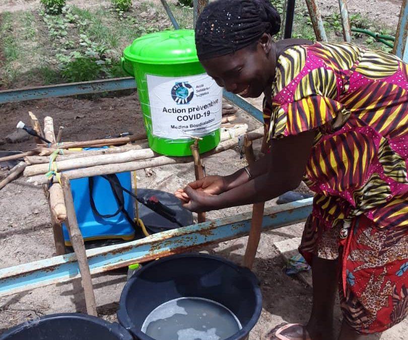 Acción preventiva para minimizar los efectos de la pandemia de covid-19 en Senegal, Honduras y Nepal.
