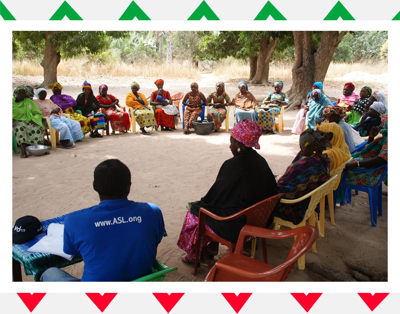 Rotllana dones Senegal