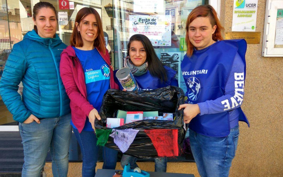 """ASL torna a participar al programa """"Educació per la Pau"""" a Sant Pere de Ribes"""