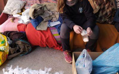 Eva Brescó explica la seva experiència a Bòsnia