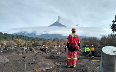 Històric 6 – ANY 2018: Intervenció a Guatemala després de l'erupció del volcà Fuego