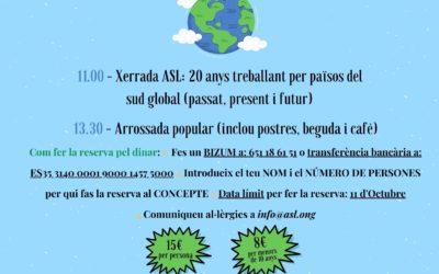 Consulteu el programa per la celebració del 20è ANIVERSARI